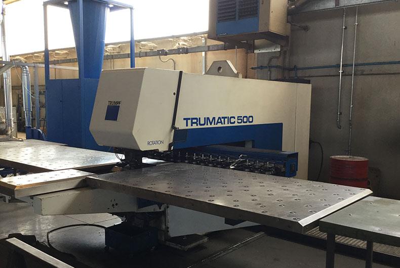 PIEGATRICE TRUMPF TRUBEND TC500